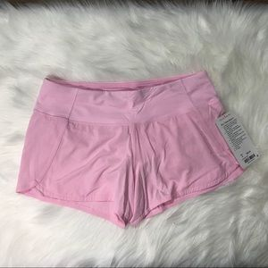 NWT LULULEMON Run Times short II 8 Pretty Pink